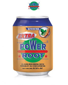 Power Root Coffee Drink Original 250ml- Extra Honey/ Ginseng Tongkat Ali/ Honey Dates/ Extra Carbonate