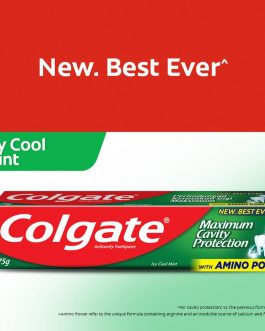 Colgate Maximum Cavity Protection Toothpaste 175g / Fresh Cool Mint/ Great Regular Flavour/ Icy Cool Mint