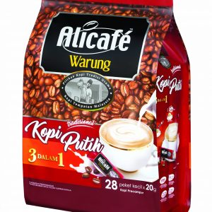 Alicafe Warung Kopi Putih (20gm x 28pcs)