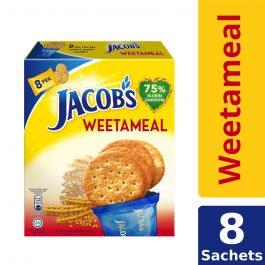 Jacob's Multi Pack Weetameal Wheat Crackers 8 Packs 144g – 4074975