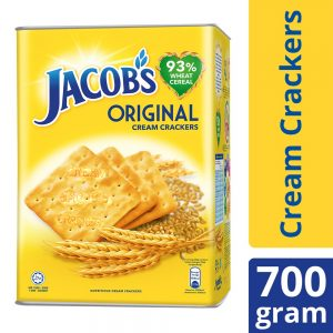 Jacob's Tin Original Cream Crackers 700g – 4071987