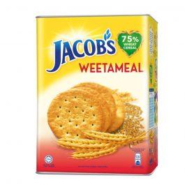 Jacob's Tin Weetameal Wheat Crackers 700g – 4071991