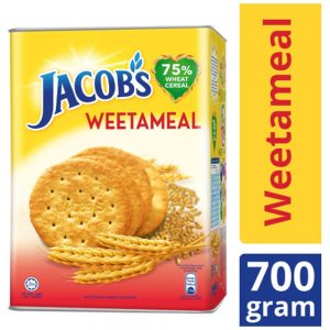 Jacob's Tin Weetameal Wheat Crackers 700g – 4071991