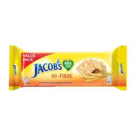 Jacob's Value Pack Hi-Fibre Cream Crackers 355g – 4074967