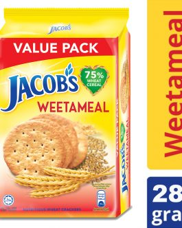 Jacob's Value Pack Weetameal Wheat Crackers 289g – 4074969