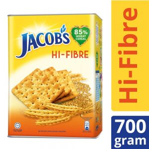 Jacob's Tin High Fibre (HI-FIBRE) Cream Crackers 700g – 4071989