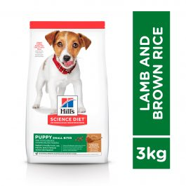 Hill's Science Diet Puppy Small Bites Lamb Meal & Brown Rice 3kg -1676HG