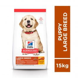 Hill's Science Diet Puppy Large Breed Chicken & Barley 15kg – 6484HG