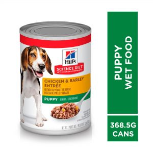 Hill's Science Diet Puppy Entrée Can Food Chicken & Barley 369g