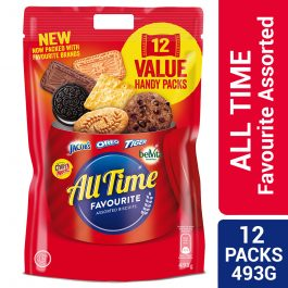 All Time Favourite Assorted Biscuits 12 Packs 493g – 4253496