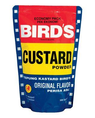 Bird's Custard Foil Powder Original Flavor Economy Pack 300g – 4058955