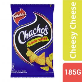 Twisties Chacho's Cheesy Cheese Tortilla Corn Chips 185g – 4049272