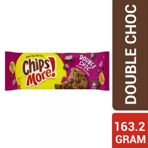 ChipsMore! Double Choc Chocolate Chip Cookies 163.2g – 4030763