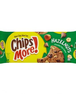 ChipsMore! Hazelnuts Chocolate Chip Cookies 163.2g – 4030781
