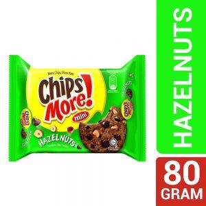 Mini ChipsMore! Hazelnuts Chocolate Chip Cookies 80g – 4085550