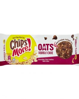 ChipsMore! Oats Double Choc Chocolate Chip Cookies 163.2g – 4085304