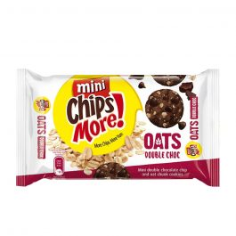 Mini ChipsMore! Oats Double Choc Chocolate Chip Cookies 80g – 4085310