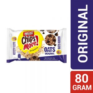 Mini ChipsMore! Oats Original Chocolate Chip Cookies 80g – 4085324
