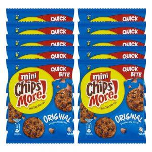 Mini ChipsMore! Original Chocolate Chip Cookies (10 X 28g) – 4085538