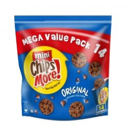 Mini ChipsMore! Original Chocolate Chip Cookies Mega Value Pack 14 x 28g – 4085554
