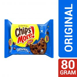 Mini ChipsMore! Original Chocolate Chip Cookies 80g – 4085535