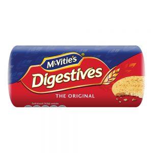 McVitie's Digestive Original Flavoured Biscuits 250g – 980238
