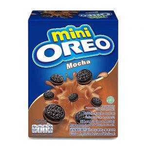 Mini Oreo Original Chocolate Sandwich Cookies with Mocha Flavored Cream Box (Pack of 2 x 20.4G) – 4253446