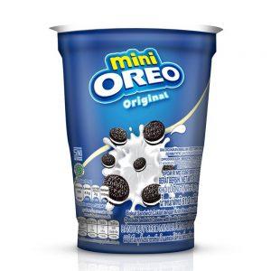 Mini Oreo Original Chocolate Sandwich Cookies with Vanilla Flavored Cream Cup 61.3G – 4253219