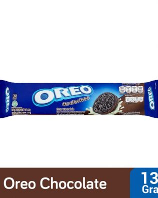 Oreo Chocolate Sandwich Cookies with Chocolate Creme Flavored Cream 133g – 4252354