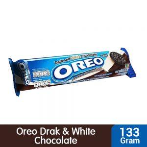 Oreo Dark and White Chocolate Flavored Cream Sandwich Cookies 133g – 4252356