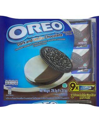 Oreo Dark and White Chocolate Flavored Cream Sandwich Cookies Multi Pack (9 X 28.5G) – 4252624