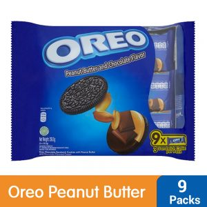 Oreo Peanut Butter and Chocolate Flavor Sandwich Cookies Multi Pack (9 X 28.5G) – 4252623