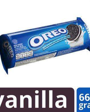 Oreo Vanilla Creme Sandwich Cookies 66.5g (12 Pieces) – 4252350