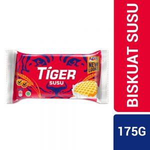 Tiger Biskuat Susu Milk Flavoured Biscuits 175G – 628771