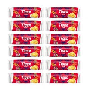 Tiger Biskuat Susu Milk Flavoured Biscuits 12 X 75G – 628769