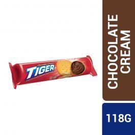 Tiger Chocolate Cream Sandwich Cracker Swavoury 118g – 4056759