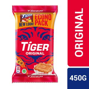 Tiger Plain Sweet Original Flavoured Biscuits Jumbo Pack 450G – 4037217