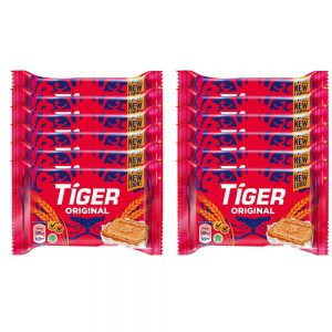 Tiger Plain Sweet Original Flavoured Biscuits Small Pack 12 X 60G – 4040923