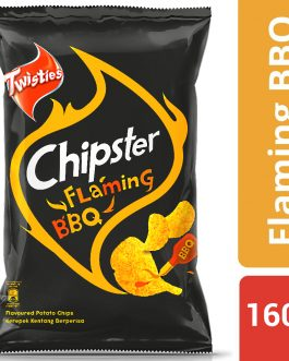 Twisties Chipster Flaming BBQ Flavoured Potato Chips 160g – 4049265