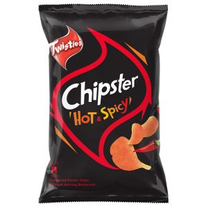Twisties Chipster Hot & Spicy Flavoured Potato Chips 160g – 4049259
