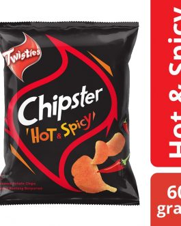 Twisties Chipster Hot & Spicy Flavoured Potato Chips 60g – 4049041