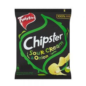 Twisties Chipster Sour Cream & Onion Flavoured Potato Chips 60g – 4049039