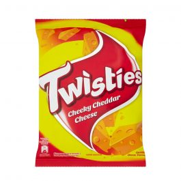 Twisties Flavoured Corn Snacks Cheeky Cheddar Cheese Flavour 60g