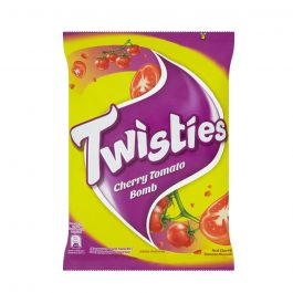 Twisties Flavoured Corn Snacks Red Cherry Tomato Flavour 60g
