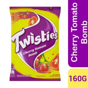 Twisties Flavoured Corn Snacks Red Cherry Tomato Flavour 160g
