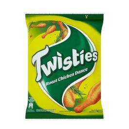 Twisties Flavoured Corn Snacks Herb Roasted Chicken Dance Flavour 60g