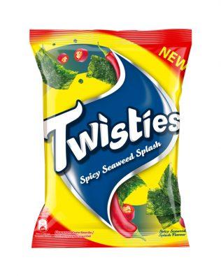 Twisties Flavoured Corn Snacks Spicy Seaweed Flavour 160g -4263713
