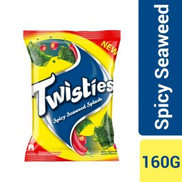 Twisties Flavoured Corn Snacks Spicy Seaweed Flavour 160g -4263713