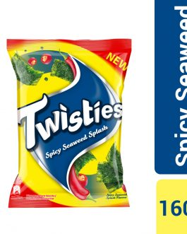 Twisties Flavoured Corn Snacks Spicy Seaweed Flavour 160g