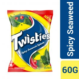 Twisties Flavoured Corn Snacks Spicy Seaweed Flavour 60G